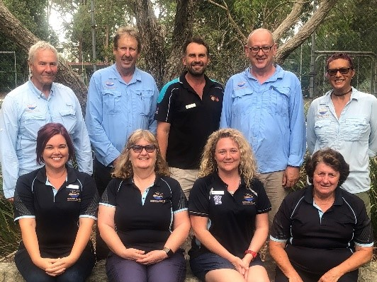 Nudgee Beach EEC staff